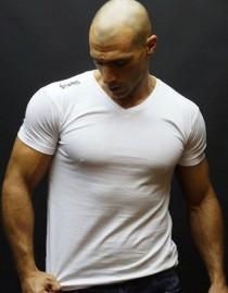 T - shirt col V